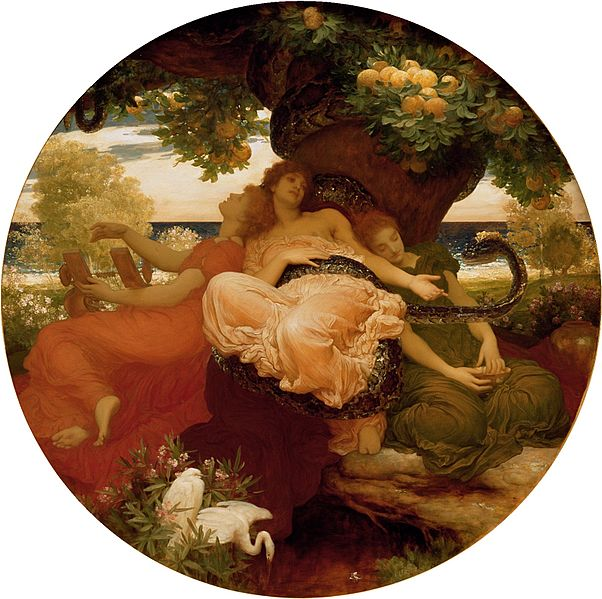 Fig. 12 - Frederic Leighton - The Garden of the Hesperides.jpg